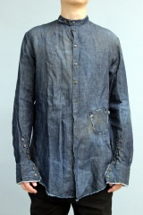 Marc Point Camicia denim