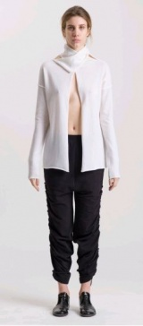 L.V..N Liviana Woman high neck Cardigan