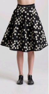 L.V..N Liviana Woman Dotted skirt