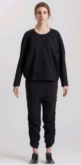 L.V..N Liviana Woman tulle sweatshirt