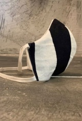 Marc Point TAILOR MASK BLACK/WHITE
