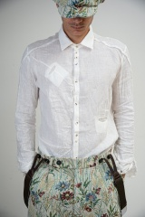 Marc Point Camicia collo vela