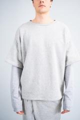 MarcandcraM Over crew neck sweatshirt