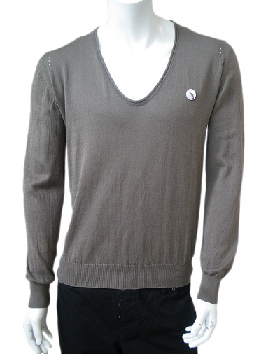 Angelos-Frentzos V-necked pullover