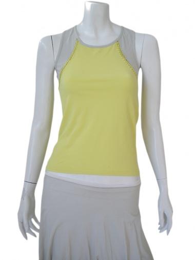 Clare Tough Undershirt with bicolour cut