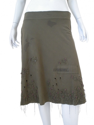 Norio Nakanishi Skirt with lace