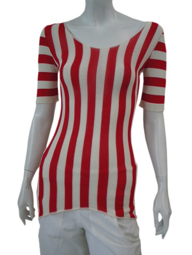 Jennifer Sindon Short striped dress