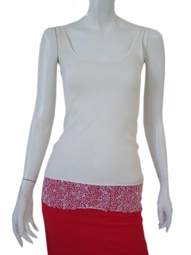 Jennifer Sindon Undershirt with lace