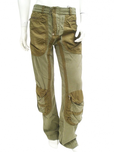 Ysack Pant with pockets on knee