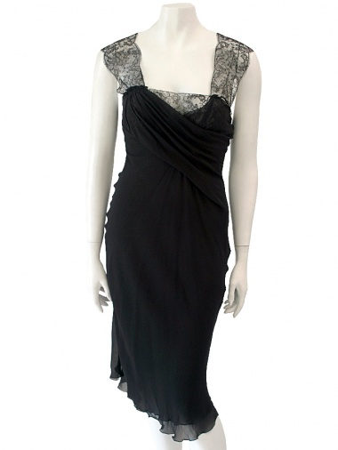Angelos-Frentzos Dress with lace