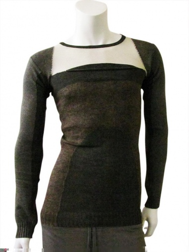 Rick Owens Round-necked pullover with pocket