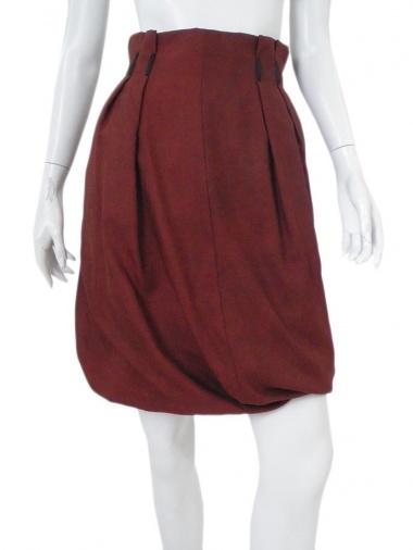 Angelos-Frentzos Balloon skirt with sewed pleats