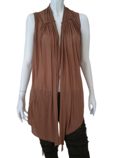 Norio Nakanishi Sleeveless open tunic