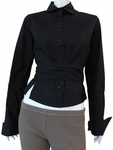 Angelos-Frentzos Knotted shirt