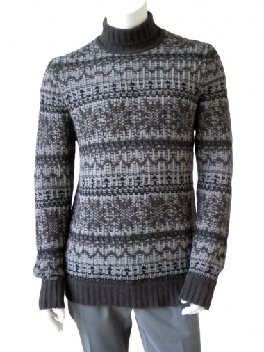 Angelos-Frentzos High-necked pullover