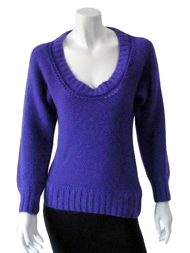 Clare Tough Low-necked jumper
