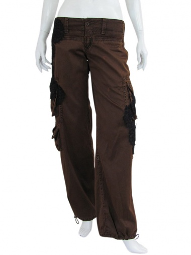 Norio Nakanishi Wide Pants Lateral Pockets