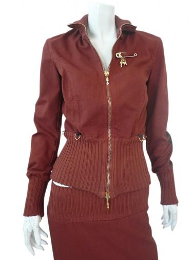Jennifer Sindon Jacket with Zip