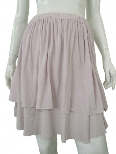 Alberto Incanuti Ribbed Skirt