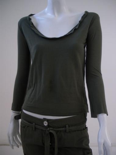 Alberto Incanuti T-shirt abito lunga crepe