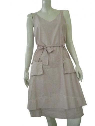 Alberto Incanuti Dress with patch pockets