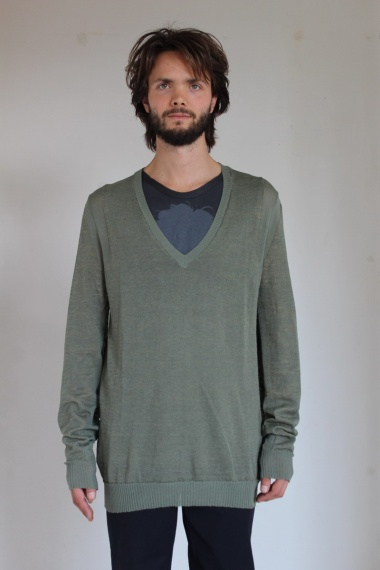 Alberto Incanuti Sweater with inlay