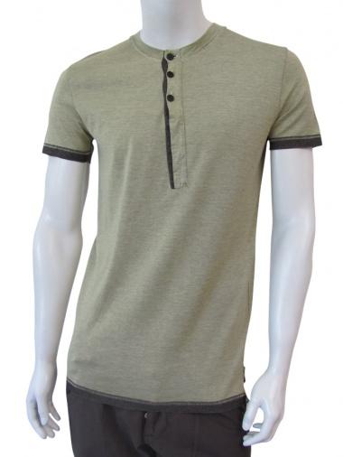 Nicolas & Mark T-Shirt m/m polo-neck