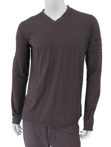 Nicolas & Mark T-Shirt M/L scavo a V