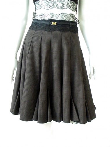 Angelos-Frentzos Skirt with panels