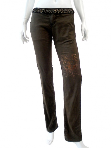 Norio Nakanishi Classic pant with print