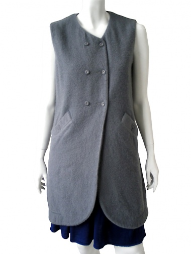 MolaMust Double-breatsed dress
