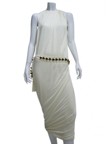 Angelos-Frentzos Draped dress