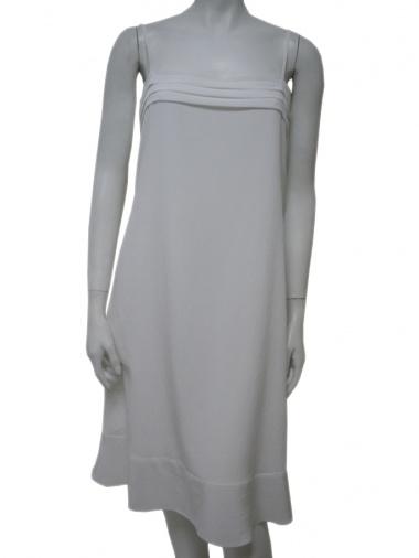 Angelos-Frentzos Long dress with pleats