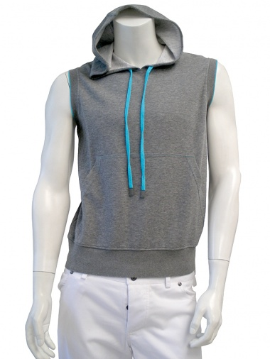 T-skin Sleeveless hoody