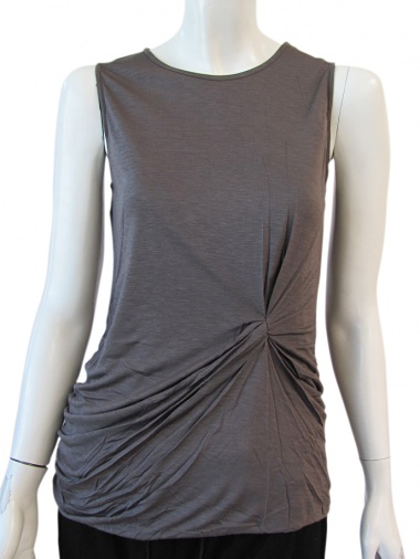 Angelos-Frentzos Sleeveless t-shirt with knot
