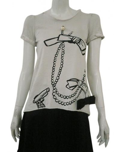 Alberto Incanuti T-shirt fiocco