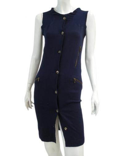 Sinha Stanic Stretch Open sleeveless dress