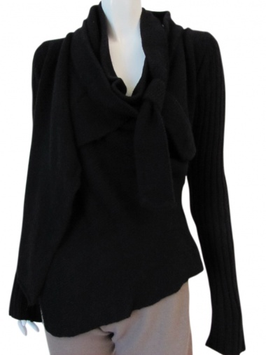 Angelos-Frentzos Knotted jacket on the neck