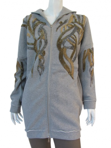 Angelos-Frentzos Hoody with flames