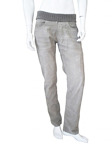 Nicolas & Mark Pant with knitted waistband
