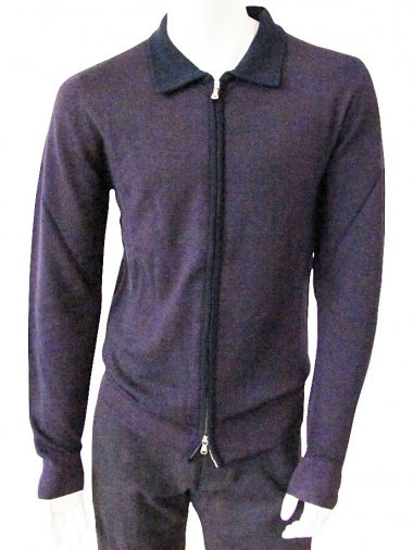 T-skin Cardigan with zip