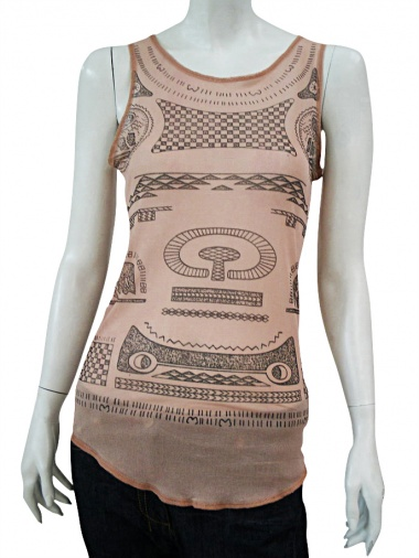 Nicolas & Mark Print Tank Top