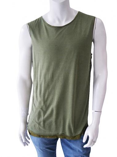 Nicolas & Mark Sleeveless T-Shirt