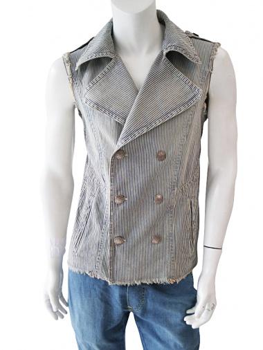 Nicolas & Mark Sleeveless jacket