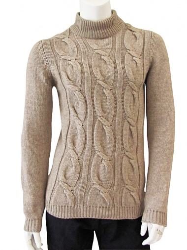 Giulio Bondi Maxi Cable-knit Turtleneck