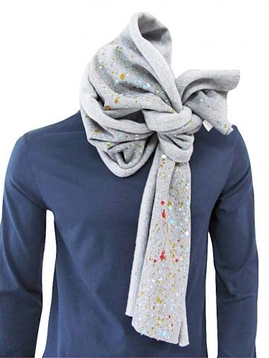 Giulio Bondi Painted scarf