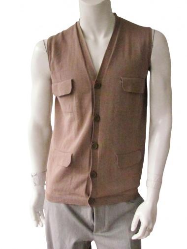 Giulio Bondi Waistcoat with 4 pockets