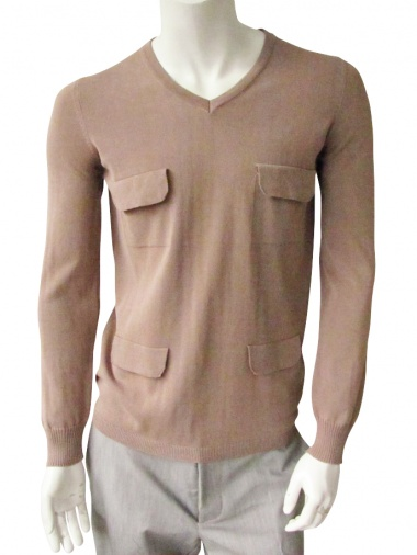 Giulio Bondi Pullover with 4 flap pocket
