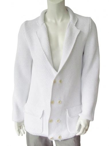 Giulio Bondi Honeycomb double-breasted Jacket