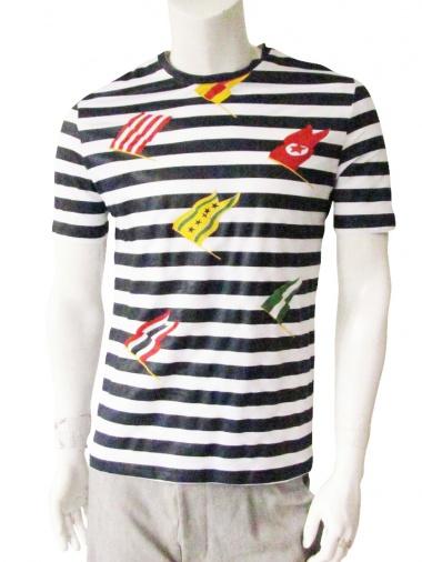 Giulio Bondi T-Shirt with flags